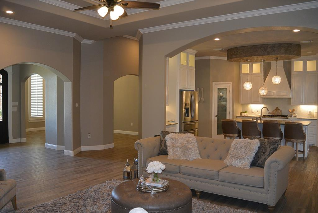 Family Room to Formal Dining Room View