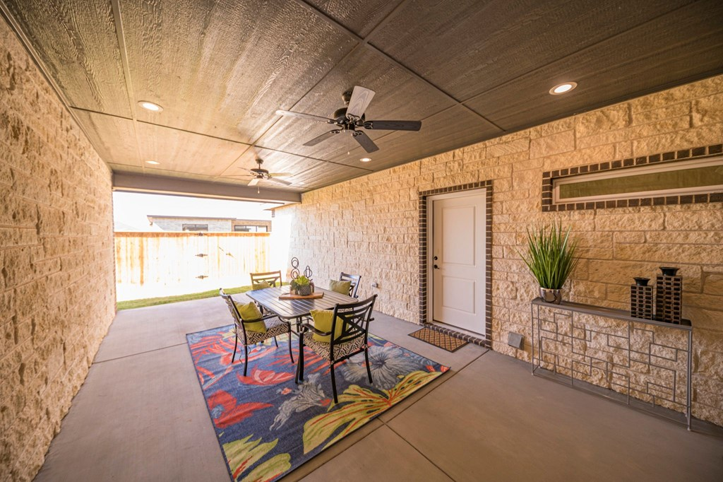 Extended Covered Patio/Living